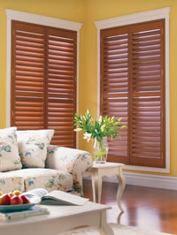 shade-o-matic wood Shutters Toronto