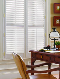 shade-o-matic Interior Vinyl Shutters toronto