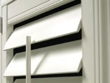 eclipse vinyl Shutters  louvers In Toronto